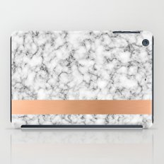 Marble and copper iPad Case