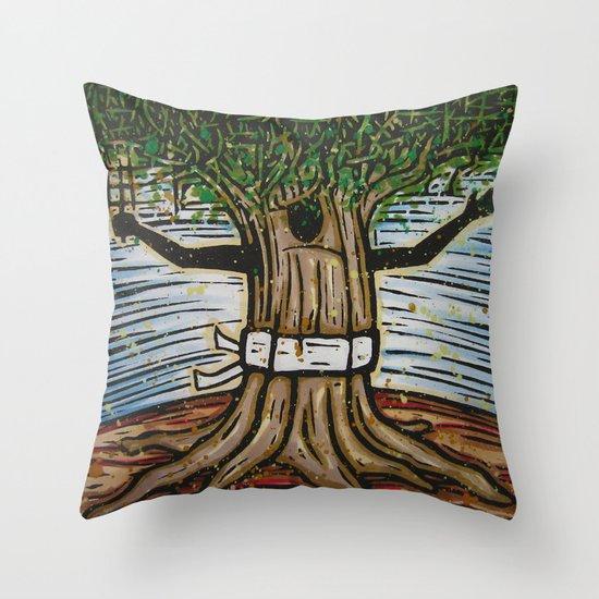 Orixás - Tempo Throw Pillow