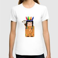 indian T-shirts featuring Indian by lescapricesdefilles