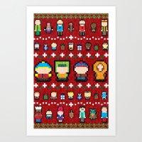 Sweater Park Art Print