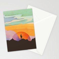 I Like to Watch the Sun Come Up Stationery Cards