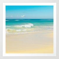 Beach Love The Secret He… Art Print