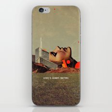 Love Is Always Waiting iPhone & iPod Skin