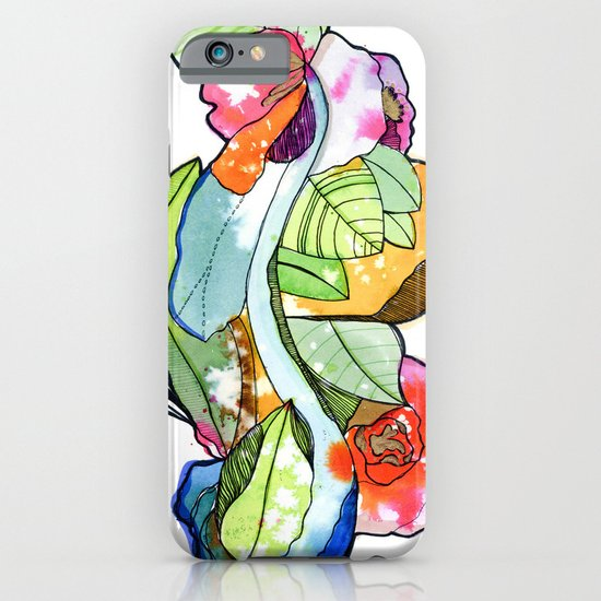Flower Heart iPhone & iPod Case