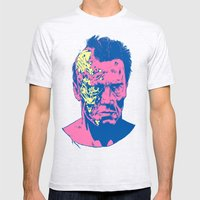 Terminator (neon) Mens Fitted Tee Ash Grey SMALL