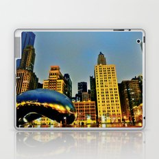 Chicago Bean Laptop & iPad Skin