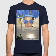 Submision 101 - Artifici… Mens Fitted Tee Navy SMALL