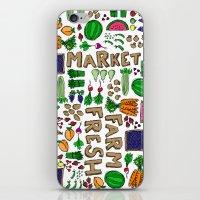 Farmer's Market Medley iPhone & iPod Skin