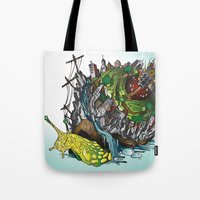 The Church is on Fire Tote Bag
