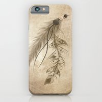 iPhone & iPod Case featuring Bohemian Feather by LouJah