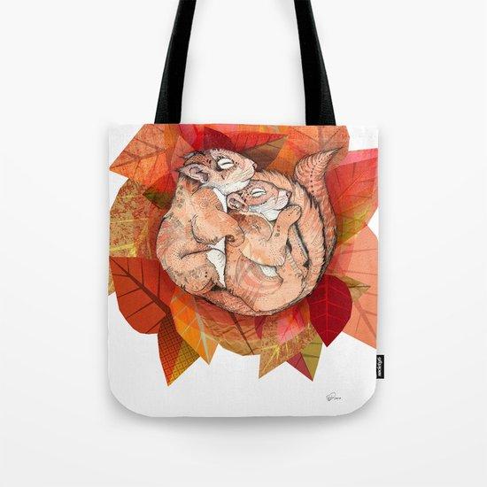 Squirrel Spoon Tote Bag
