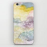 Dreaming In Lotus  iPhone & iPod Skin