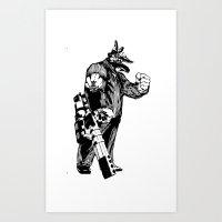 L3ader Art Print