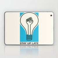Stay Up Late Laptop & iPad Skin