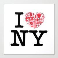 I everything NY Canvas Print