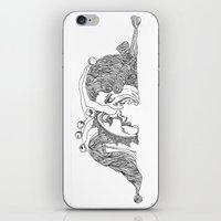 Comedy And Tragedy iPhone & iPod Skin