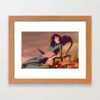 A8 Framed Art Print