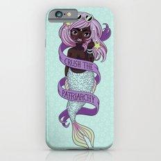 ♀ Crush the patriarchy ♀ iPhone 6 Slim Case