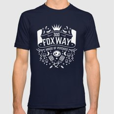 300 Fox Way v2 Mens Fitted Tee Navy SMALL