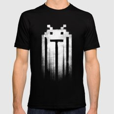 Space Punisher I SMALL Mens Fitted Tee Black