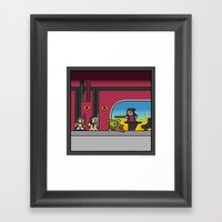 Mega Boss Battles - Palp… Framed Art Print