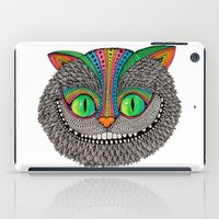 Alice´s Cheshire Cat By… iPad Case