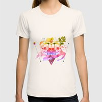 Dead Twins Womens Fitted Tee Natural SMALL