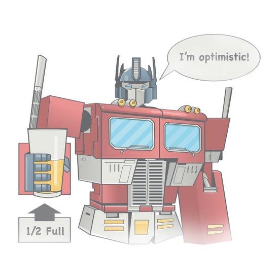 Optimistic Prime Art Print