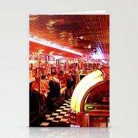 Mel's Diner Stationery Cards