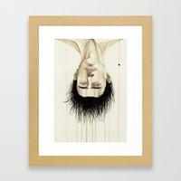 H. Framed Art Print