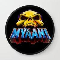 MYAAH! Wall Clock