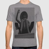 Hi, from the Roof Top Mens Fitted Tee Athletic Grey SMALL