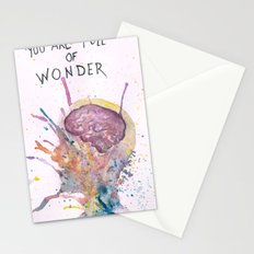 You Are Full of Wonder Stationery Cards