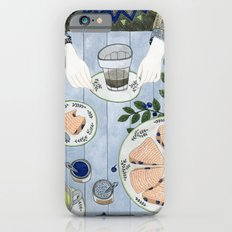 Blueberry Scones Slim Case iPhone 6s