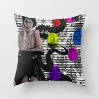 Audrey Horne Throw Pillow