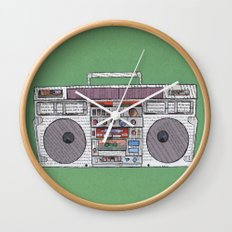 paper jams Wall Clock