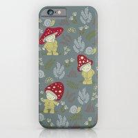 Melancholy Mushrooms iPhone 6 Slim Case