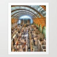Musee d'Orsay Art Print