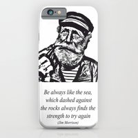 Man Of The Sea iPhone 6 Slim Case