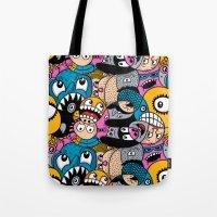 Fishstix Tote Bag