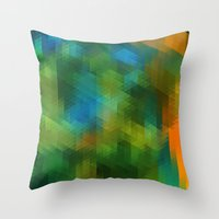Cobalt Throw Pillow