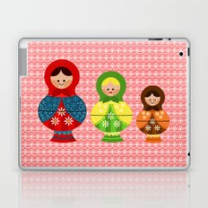 Matrioskas (Russian dolls) Laptop & iPad Skin