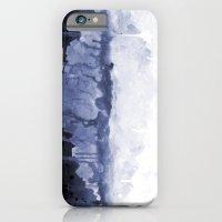 Paint 5 abstract water ocean arctic iceberg nature ocean sea abstract art drip waterfall minimal  iPhone 6 Slim Case