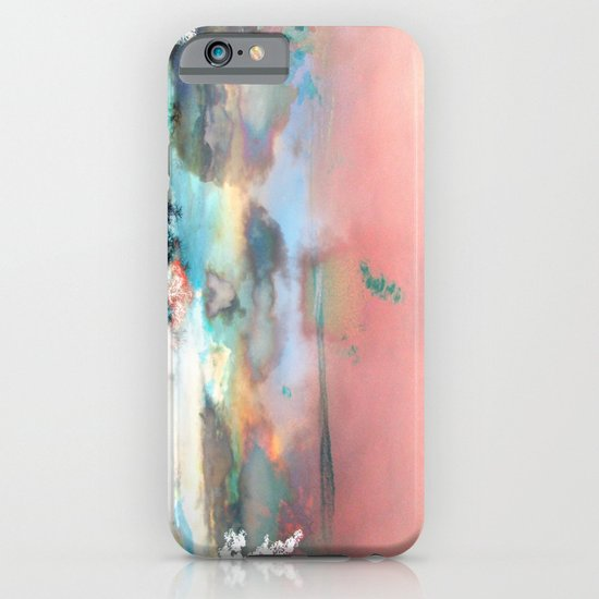 Clouds like Splattered Watercolor iPhone & iPod Case