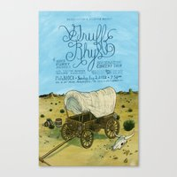 Gruff Rhys poster Canvas Print