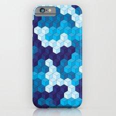 CUBOUFLAGE BLUE Slim Case iPhone 6s