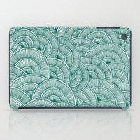 Swirls Green iPad Case