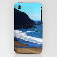 iPhone 3Gs & iPhone 3G Cases featuring Walk On The Beach by Melinda Firestone-White