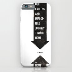 Endless Journey Home iPhone 6s Slim Case
