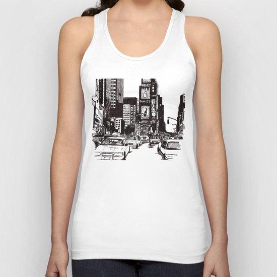 New York New York Unisex Tank Top